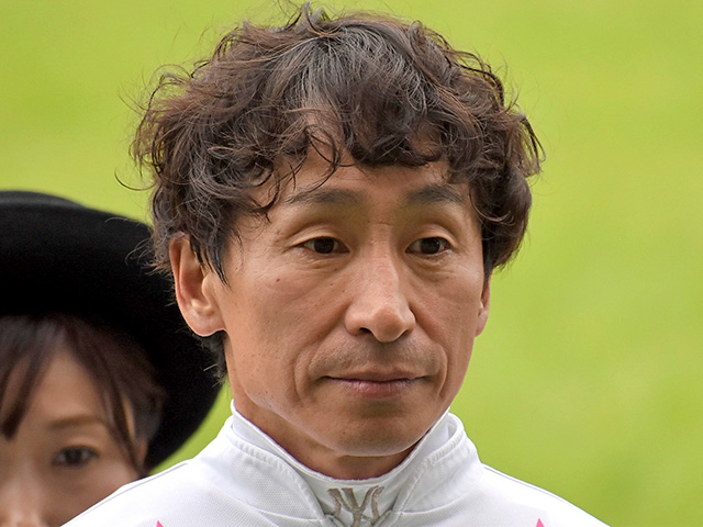2日間の騎乗停止処分を受けた横山典弘騎手(撮影日は4月27日)