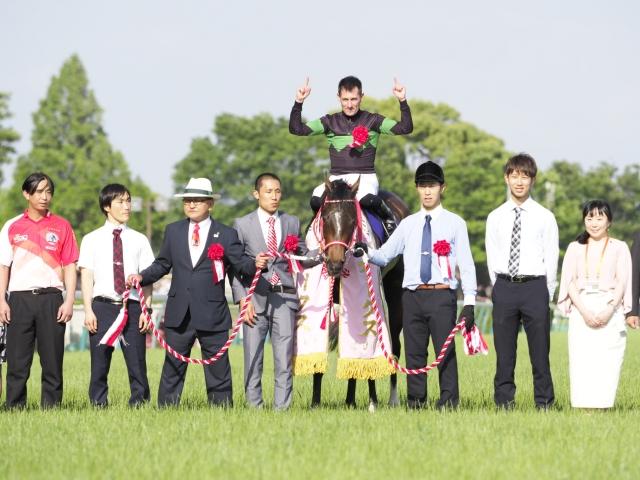 ラヴズオンリーユーが無敗のオークス馬に輝く(c)netkeiba.com、撮影:下野雄規