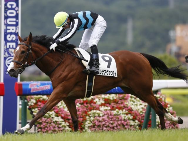 5Rの新馬戦は2番人気のエレナアヴァンティが勝利(c)netkeiba.com、撮影:下野雄規