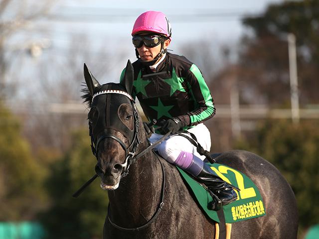 武豊騎手騎乗のグリムは1枠1番(写真は2019年名古屋大賞典優勝時、撮影:稲葉訓也)