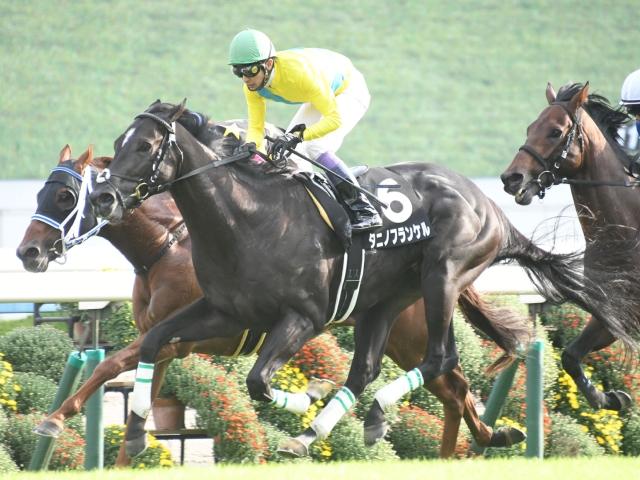 小倉では2戦して1勝、2着1回のタニノフランケル(写真は大原S優勝時)