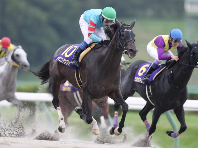岩田康誠騎手騎乗のヤマニンアンプリメが勝利(撮影:高橋正和)