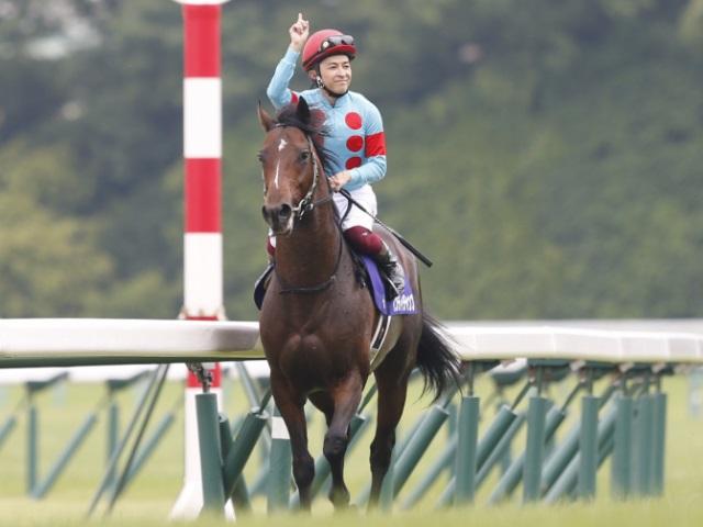 今年もインディチャンプで安田記念を制するなどの活躍をしている福永祐一騎手(撮影:下野雄規)