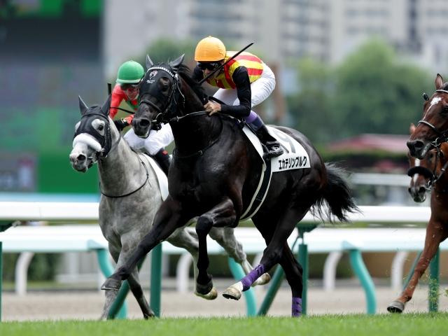 先週日曜の札幌競馬での新馬戦を制したエカテリンブルク(c)netkeiba.com