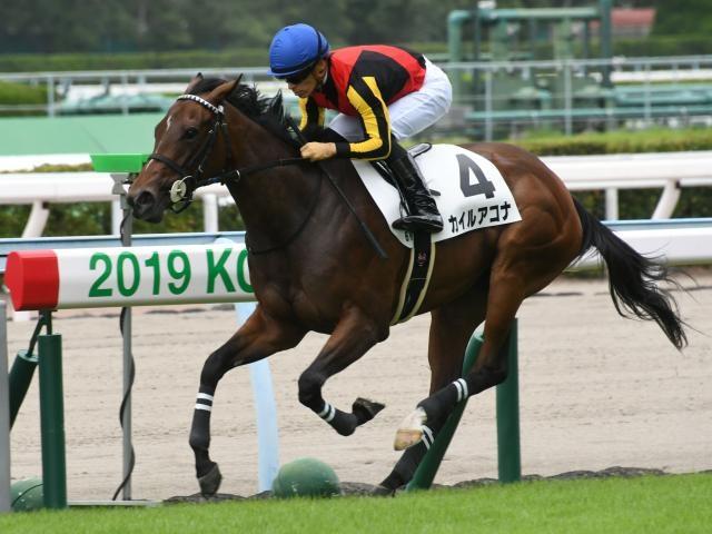 新馬戦を圧勝したカイルアコナ