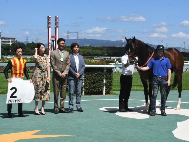 阪神5Rは川田将雅騎手騎乗のアルジャンナが圧倒的な人気に応えて快勝(c)netkeiba.com
