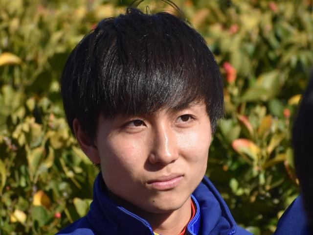 デビュー2年目で通算100勝目を挙げた落合騎手(撮影日は2018年12月28日)