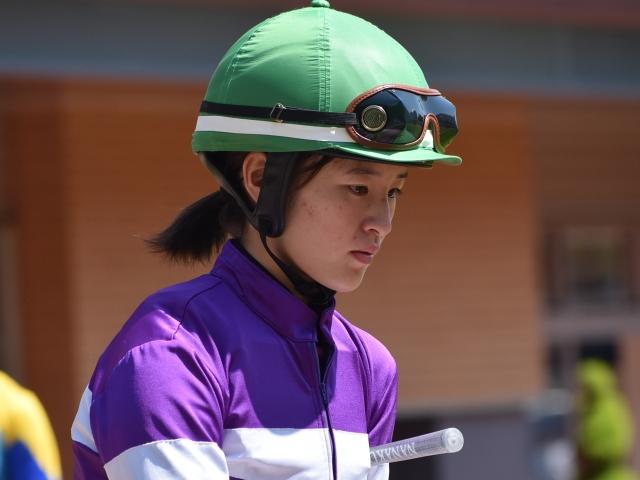 2019年新潟競馬リーディングジョッキーに輝いた藤田菜七子騎手(撮影は19年8月18日、(c)netkeiba.com)