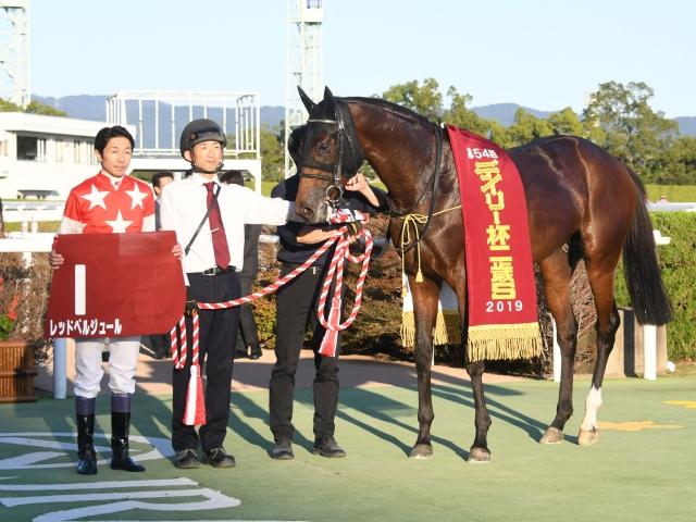 代打騎乗になった武豊騎手が見事に勝利した(c)netkeiba.com
