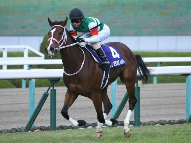 阪神JFを勝利した北村友一騎手騎乗レシステンシア