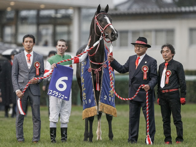 G1・3連勝で有終の美を飾ったリスグラシューが年度代表馬に(撮影:下野雄規)