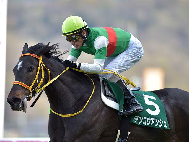 昨年の福島牝馬S覇者デンコウアンジュがトップハンデ(撮影:小金井邦祥)