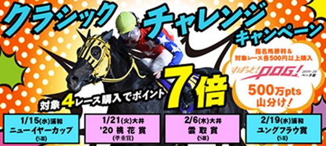 ニューイヤーカップ(浦和)はポイント最大7倍!