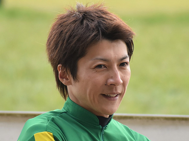 石橋脩騎手は2週連続、中山芝1600mで重賞制覇(撮影日は2月22日、(c)netkeiba.com)