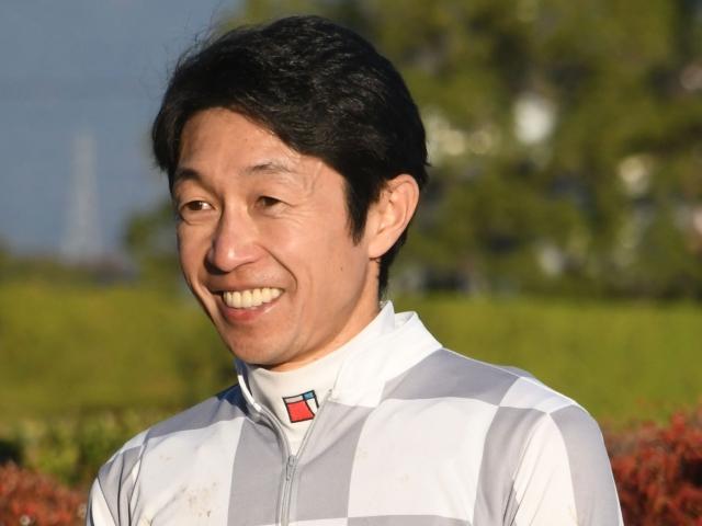 「可能性は持っている馬」と語った武豊騎手(撮影日は2019年11月23日、(c)netkeiba.com)