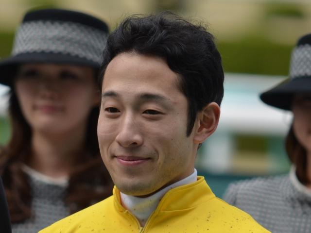 アンタレスSを勝利した藤岡佑介騎手(c)netkeiba.com、撮影日:2014年3月30日