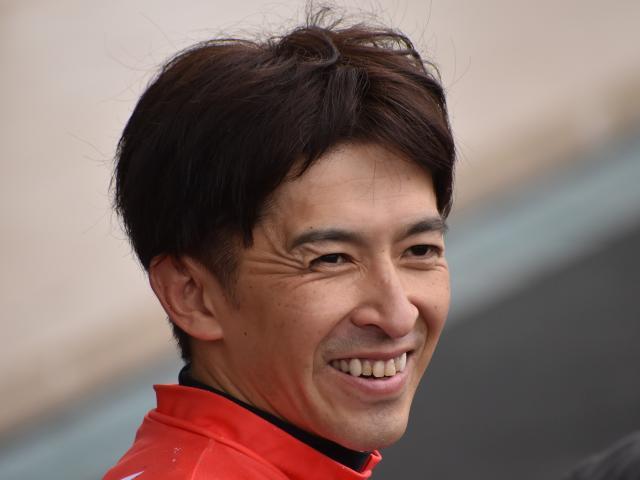 コントレイルとのコンビで皐月賞を制した福永騎手(c)netkeiba.com、撮影日:2019年7月7日
