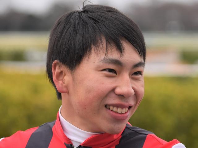 待望の重賞初制覇を果たした横山武史騎手(撮影日は2019年12月、(c)netkeiba.com)