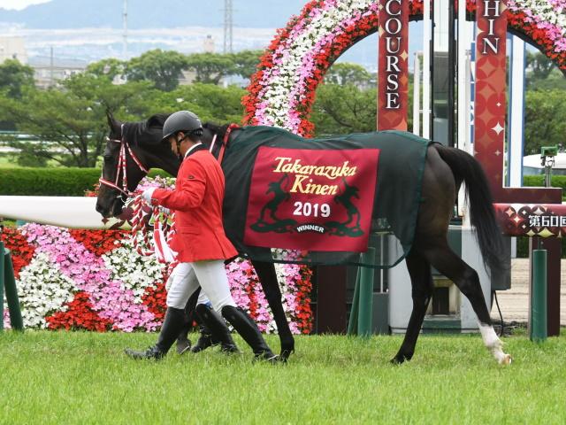 リスグラシューが勝利した昨年の宝塚記念