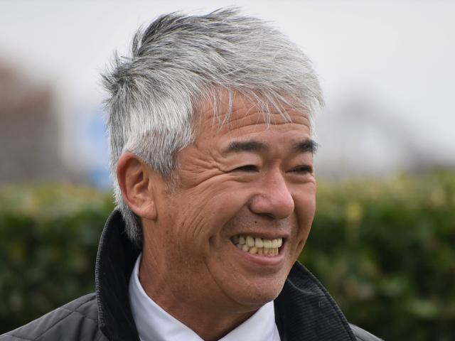 JRA通算1500勝を達成した藤沢和雄調教師(c)netkeiba.com、撮影日:2019年12月21日
