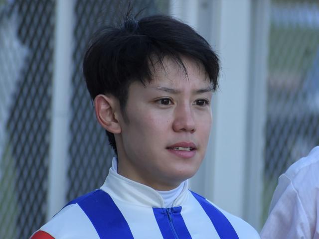 優勝したジョーカナチャンに騎乗した菱田裕二騎手(c)netkeiba.com、撮影日:2019年5月5日