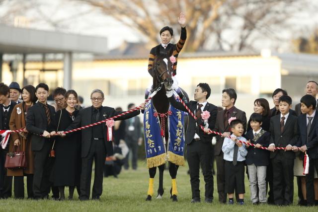 顕彰馬に選定されたキタサンブラック(撮影:下野雄規)