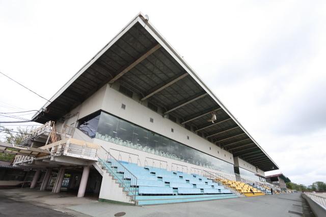 笠松競馬場(撮影:高橋正和)