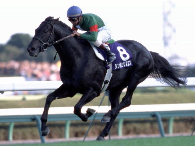 2002年の天皇賞・秋では3歳馬ながら古馬を下してGI初制覇(撮影:下野雄規)