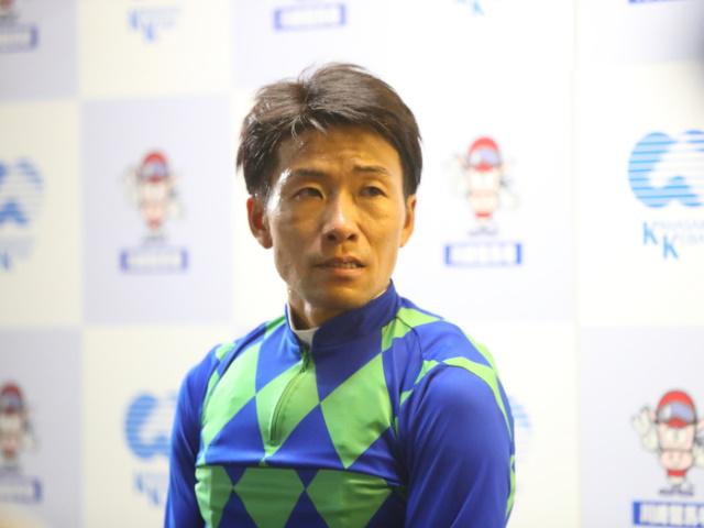 昨年は地方競馬通算3000勝も達成した森泰斗騎手(撮影:高橋正和)