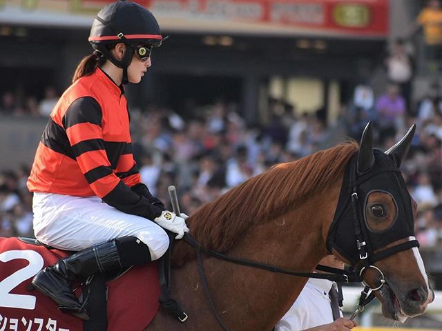 11歳馬アクションスターが登録抹消(写真は2019年目黒記念出走時、ユーザー提供:モエロウエクラさん)