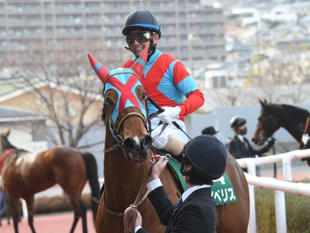 京都牝馬Sで見事に勝利したイベリス(c)netkeiba.com