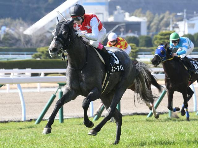 藤岡康太騎手騎乗のミニーアイルが人気に応えた
