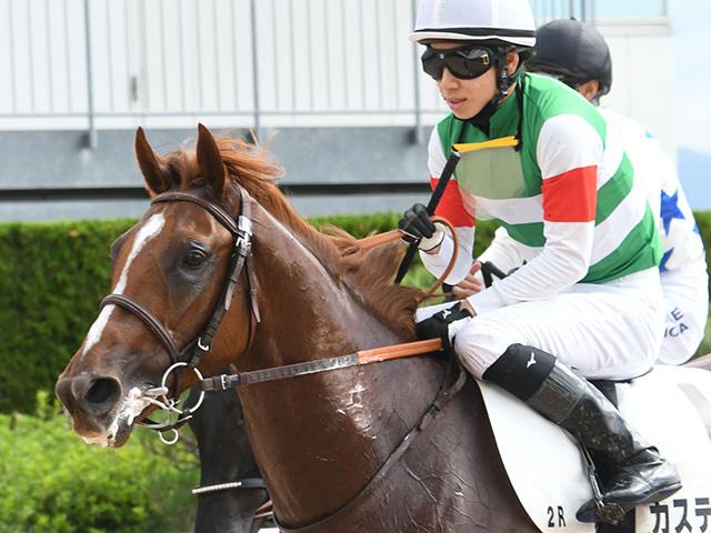 モーリス産駒の3歳馬カスティーリャ(撮影日は昨年10月11日)