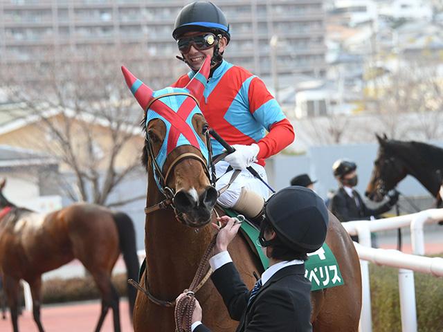 京都牝馬Sで重賞2勝目をあげたイベリス