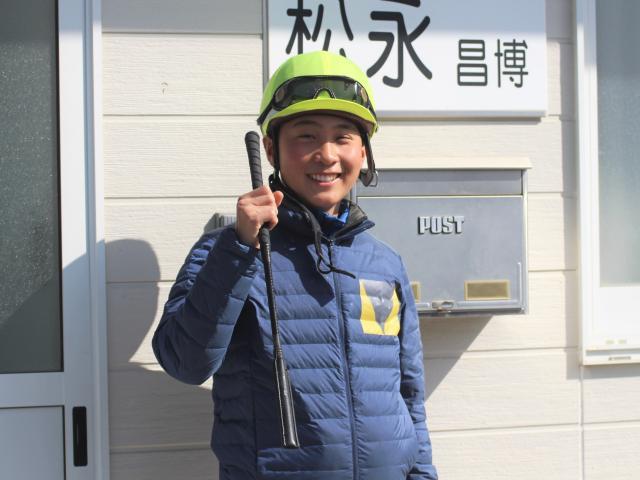 今週も小沢大仁騎手の活躍に期待したい(撮影:花岡貴子)
