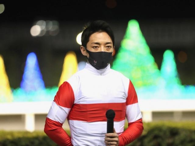 ダノンファラオを勝利に導いた川田将雅騎手(c)netkeiba.com、撮影:高橋正和