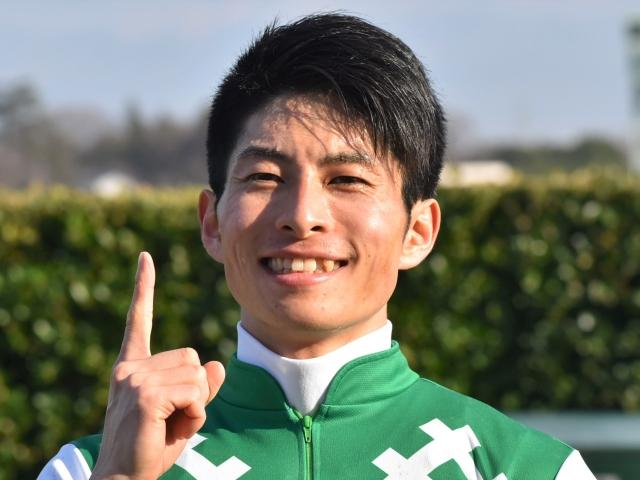 JRA通算100勝を達成した森一馬騎手(c)netkeiba.com、撮影日:2020年1月11日