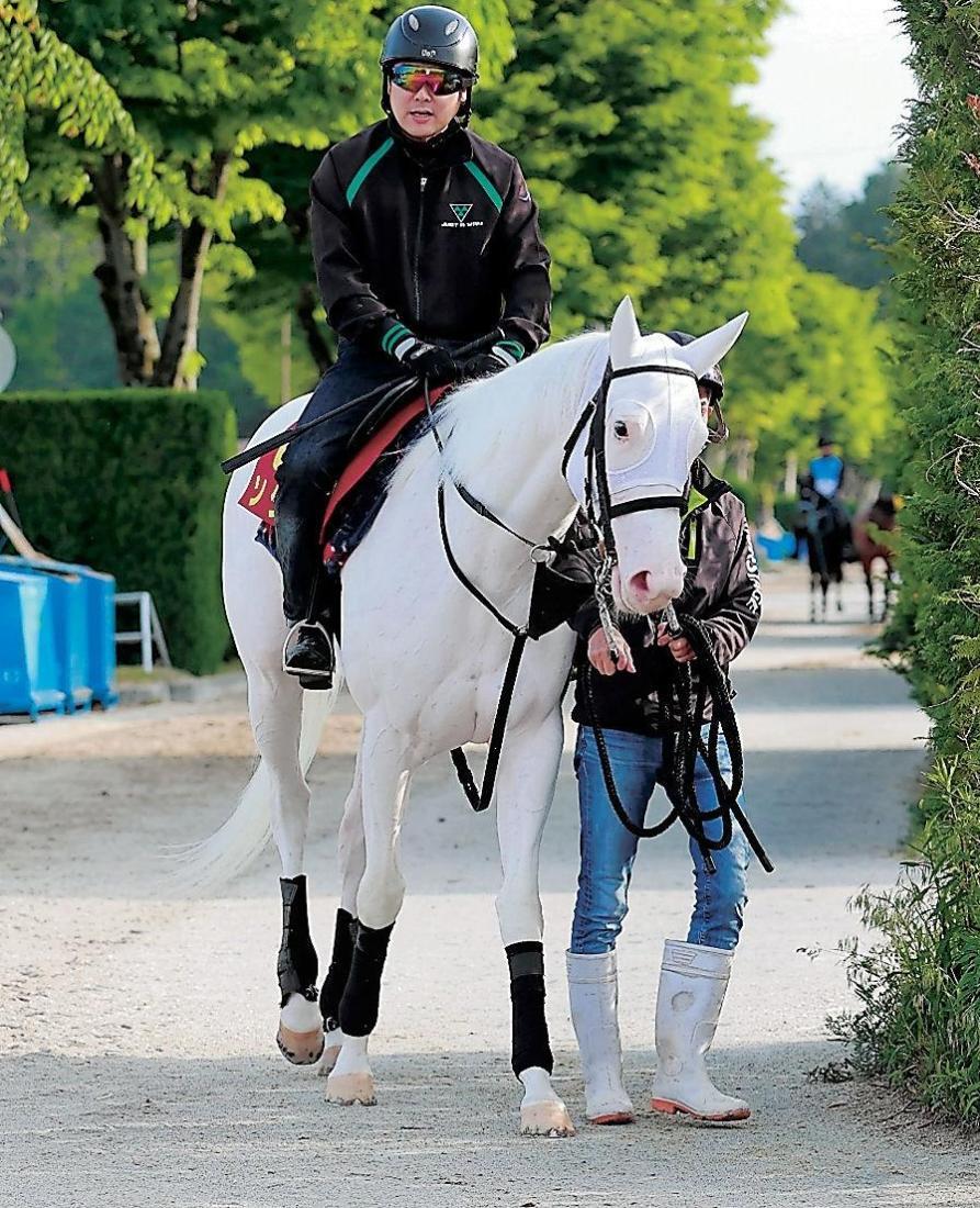 オークスで無敗の牝馬クラシック2冠を目指す白毛馬ソダシ