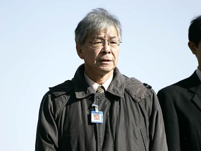 高松邦男元調教師(撮影日:2008年1月19日、(c)netkeiba.com、撮影:下野雄規)