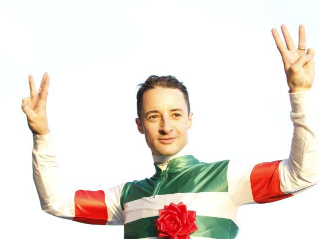 本日、函館で7鞍騎乗するルメール騎手(c)netkeiba.com、撮影:下野雄規
