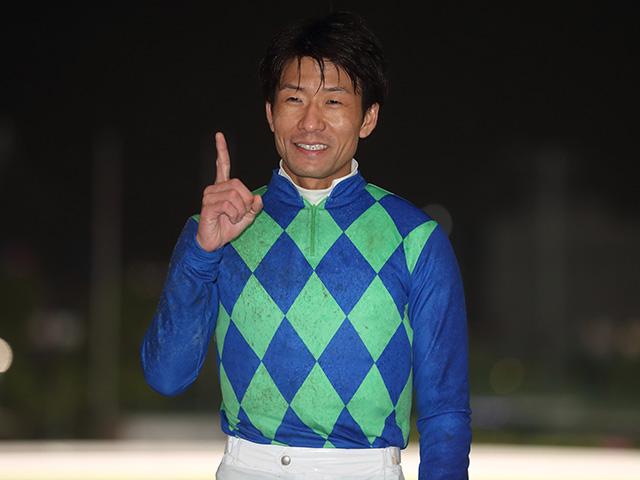 森泰斗騎手(写真は今年の羽田盃優勝時、撮影:高橋正和)