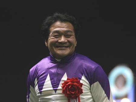 53歳で急逝した笠松の濱口楠彦騎手(撮影:高橋正和)