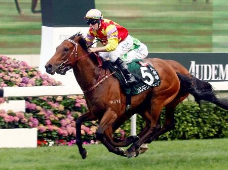 クイーンエリザベス2世Cは香港ダービー馬デザインズオンロームが制した(写真提供:Hong Kong Jockey Club)