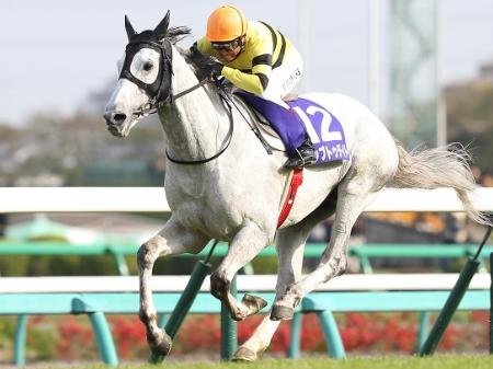 林満明騎手騎乗のアップトゥデイトが大差勝ち、人馬ともにJ・GI初制覇となった(撮影:下野雄規)