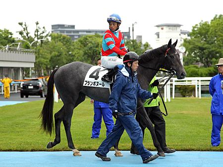 レースぶりにセンスが光ったブランボヌール(写真は2015年新馬優勝時)