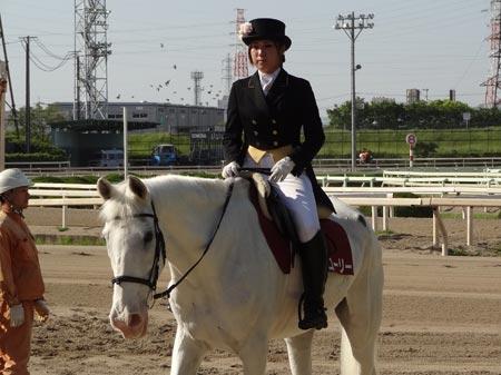 国内最年長の誘導馬、幅広い世代から愛されているマコーリー