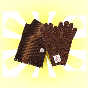 有馬記念ニットマフラー&手袋