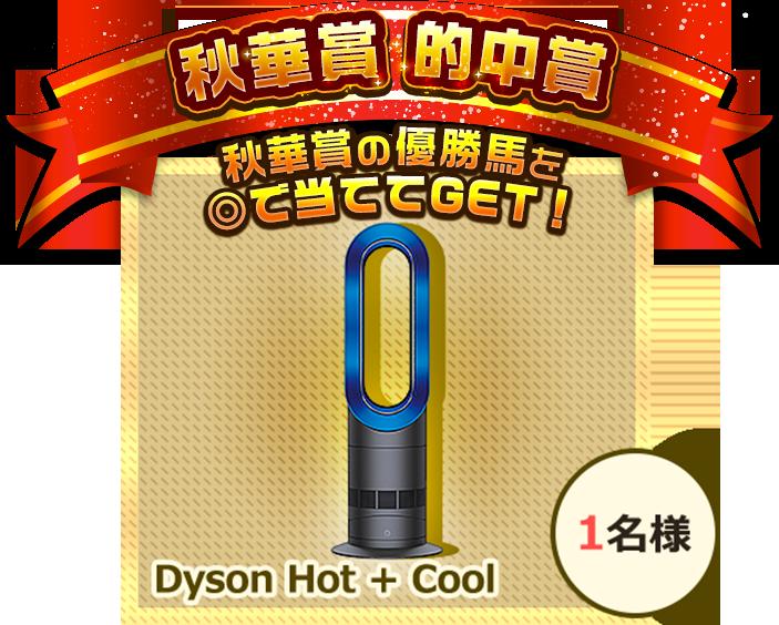 秋華賞 的中賞秋華賞の優勝馬を◎で当ててGET! Dyson Hot + Cool 1名様