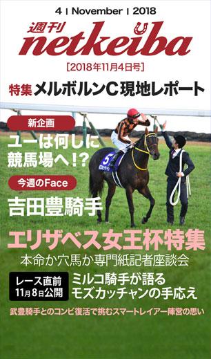 2018.11.4号 週刊netkeiba