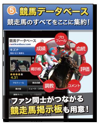 魅力5 競馬データベース